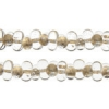 Bow Beads (Farfalle) 3.2x6.5mm Crysal Bronze Lined Transparent